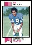 1973 Topps #116  Jim Nettles  Front Thumbnail