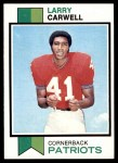 1973 Topps #83  Larry Carwell  Front Thumbnail