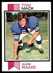1973 Topps #90  Tom Mack  Front Thumbnail