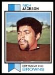 1973 Topps #129  Rich Jackson  Front Thumbnail