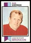 1973 Topps #52  Rod Sherman  Front Thumbnail