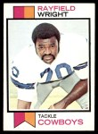 1973 Topps #110  Rayfield Wright  Front Thumbnail