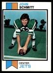 1973 Topps #24  John Schmitt  Front Thumbnail
