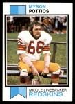 1973 Topps #71  Myron Pottios  Front Thumbnail