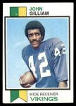 1973 Topps #85  John Gilliam  Front Thumbnail