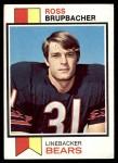 1973 Topps #87  Ross Brupbacher  Front Thumbnail