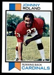 1973 Topps #123  Johnny Roland  Front Thumbnail