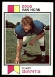 1973 Topps #142  Doug Van Horn  Front Thumbnail