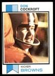 1973 Topps #79  Don Cockroft  Front Thumbnail