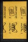 1963 Topps Peel-Offs #32  Bob Purkey  Back Thumbnail