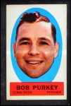 1963 Topps Peel-Offs #32  Bob Purkey  Front Thumbnail