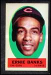 1963 Topps Peel-Offs #5  Ernie Banks  Front Thumbnail