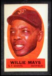 1963 Topps Peel-Offs #27  Willie Mays  Front Thumbnail