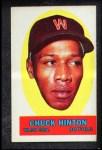 1963 Topps Peel-Offs #18  Chuck Hinton  Front Thumbnail