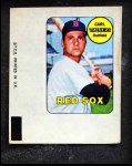 1969 Topps Decals  Carl Yastrzemski  Front Thumbnail