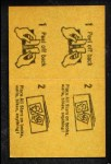 1963 Topps Peel-Offs #22  Harmon Killebrew  Back Thumbnail