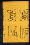 1963 Topps Peel-Offs #24  Jerry Lumpe  Back Thumbnail