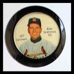 1962 Salada Coins #197  Alex Grammas  Front Thumbnail