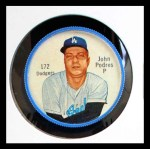 1962 Salada Coins #172  Johnny Podres  Front Thumbnail