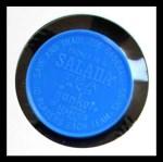 1962 Salada Coins #124  Wally Moon  Back Thumbnail
