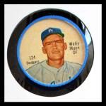 1962 Salada Coins #124  Wally Moon  Front Thumbnail
