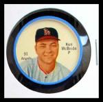 1962 Salada Coins #91 RED Ken McBride  Front Thumbnail