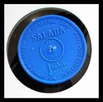 1962 Salada Coins #154 OF Tommy Davis    Back Thumbnail