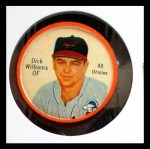 1962 Salada Coins #48 LT Dick Williams    Front Thumbnail