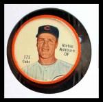 1962 Salada Coins #171  Richie Ashburn  Front Thumbnail