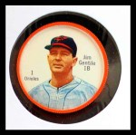 1962 Salada Coins #1  Jim Gentile  Front Thumbnail