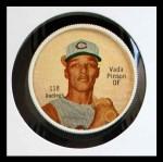 1962 Salada Coins #118  Vada Pinson  Front Thumbnail