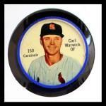 1962 Salada Coins #160  Carl Warwick  Front Thumbnail