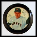 1962 Salada Coins #134  Mike McCormick  Front Thumbnail