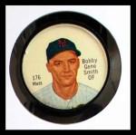 1962 Salada Coins #176 NY Bobby Gene Smith  Front Thumbnail