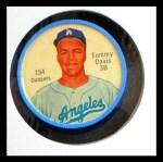 1962 Salada Coins #154 3B Tommy Davis    Front Thumbnail