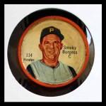 1962 Salada Coins #114  Smokey Burgess  Front Thumbnail