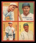1935 Goudey  Joe Cronin / Carl Reynolds / Max Bishop / Chalmer Cissell  Front Thumbnail