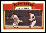 1972 Topps #48   -  John Ellis In Action Front Thumbnail