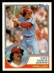 1983 Topps Traded #36 T Kiko Garcia  Front Thumbnail