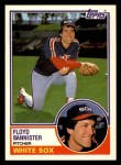 1983 Topps Traded #7 T Floyd Bannister  Front Thumbnail