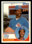 1983 Topps Traded #50 T Odell Jones  Front Thumbnail