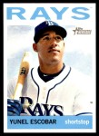2013 Topps Heritage #123  Yunel Escobar  Front Thumbnail