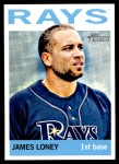 2013 Topps Heritage #223  James Loney  Front Thumbnail
