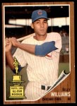 1962 Topps #288  Billy Williams  Front Thumbnail