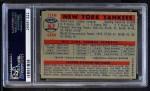 1957 Topps #97   Yankees Team Back Thumbnail