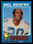 1971 Topps #118  Mel Renfro  Front Thumbnail