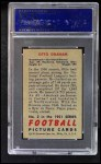 1951 Bowman #2  Otto Graham  Back Thumbnail