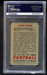 1951 Bowman #34  Sammy Baugh  Back Thumbnail