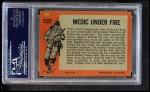 1965 Topps Battle #10   Medic Under Fire  Back Thumbnail