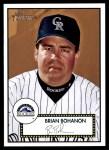 2001 Topps Heritage #112  Brian Bohanon  Front Thumbnail